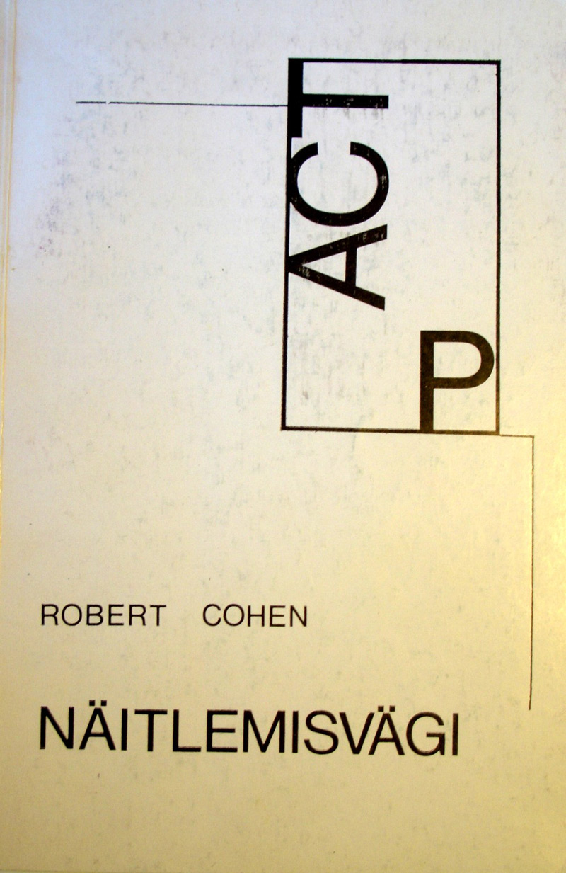 an analysis of robert cohens book acting power Designed for courses in beginning or intermediate acting, this text is a contemporary, personal, and provocative resource for students who strive to become great—not merely good—performers.